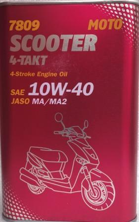 Масло Mannol 4т  10w-40  SCOOTER  1л