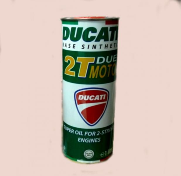 Масло DUCATI 2T DUE MOTO (синт)1л про-во Италия