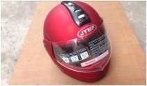 Шлем трансформер красный (матовый)
