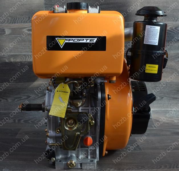 Двигатель дизельный FORTE F192FE 12 Л.С. вал 25 мм шпонка.