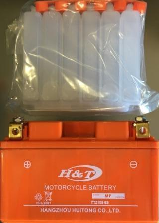 "Аккамулятор   YTZ10S-BS  ""HT"" заливной  оранжевый 95x87x150"