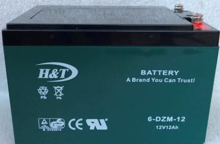 """Аккамулятор  12V12A 6DZM-12 """"HT"""" электро-велосипед 151x98x95"""