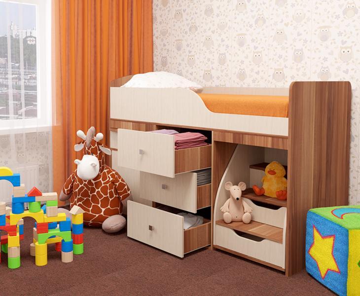Фото Детская мебель Кровать детская ФЕЯ (Пирамида)