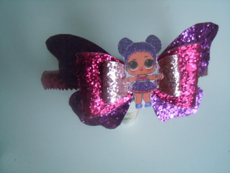 Фото Готовые изделия хенд мейд, Ободки хенд мейд Ободок из эко-кожи Лол бабочка