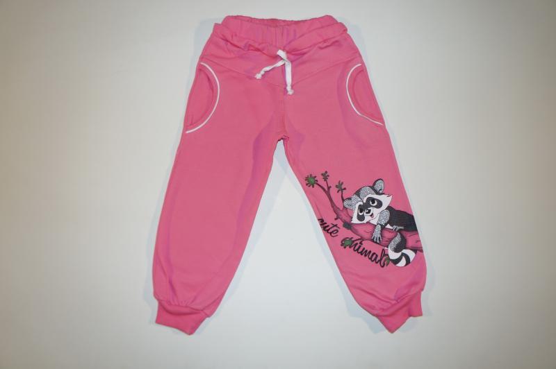 Спортивные брюки для девочек9007