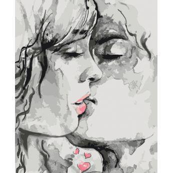 Фото Картины на холсте по номерам, Романтические картины. Люди KH 2692