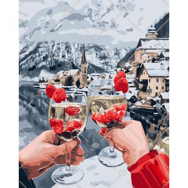 Фото Картины на холсте по номерам, Романтические картины. Люди KH 4538