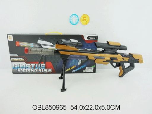 Фото Игрушечное Оружие, Со звуковыми и световыми эффектами Винтовка снайперская звук, свет 2202A