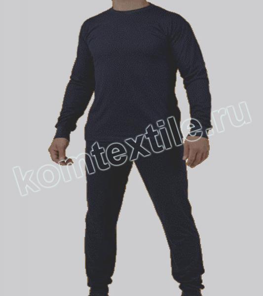 Комплект нательного белья т.синее