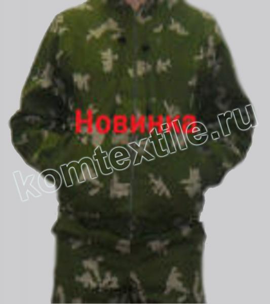 Маскировочный халат Березка серая