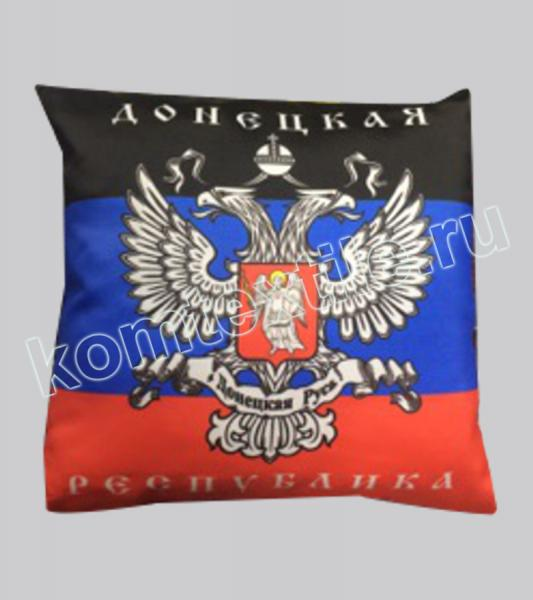 """Подушка сувенирная """"Донецкая Республика"""""""