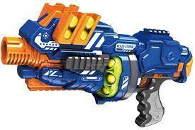 Фото Игрушечное Оружие, Стреляет поролоновыми пульками, снарядами, шариками, стрелами и т. д. ZC 7087 Blaze Storm  Полуавтоматичский автомат