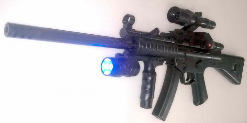 Фото Игрушечное Оружие, Стреляет пластиковыми 6мм  пульками, Автомат, пулемет, карабин Детский игрушечный карабин HY 015C