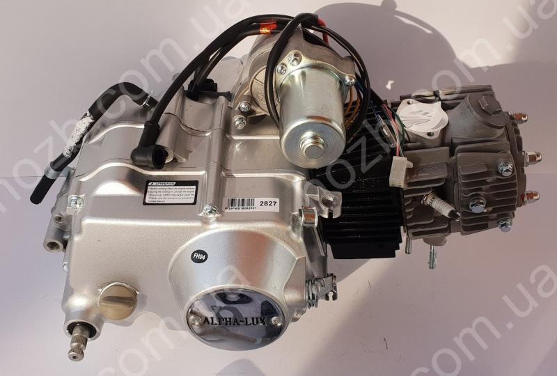 Двигатель 110 см3  автомат на Дельту, Альфу, Актив