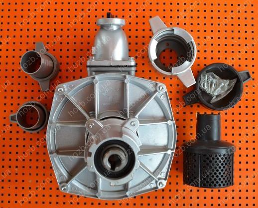 Помпа под ВОМ для мотоблоков 178F-186F (диаметр патрубков 50 мм, алюминий)