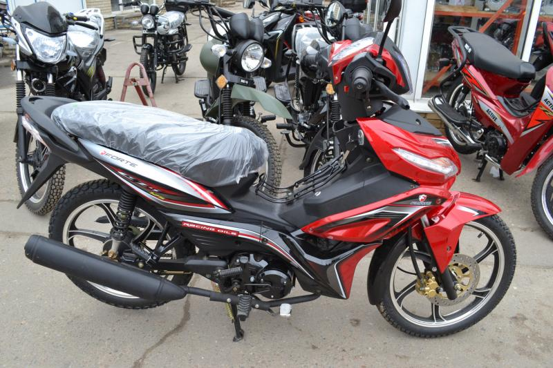 Мотоцикл Forte FT-125-FA