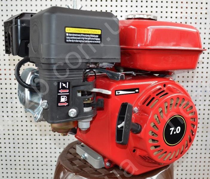 Двигатель бензиновый 168F 7 л.с вал 19 мм шпонка+центробежное сцепление