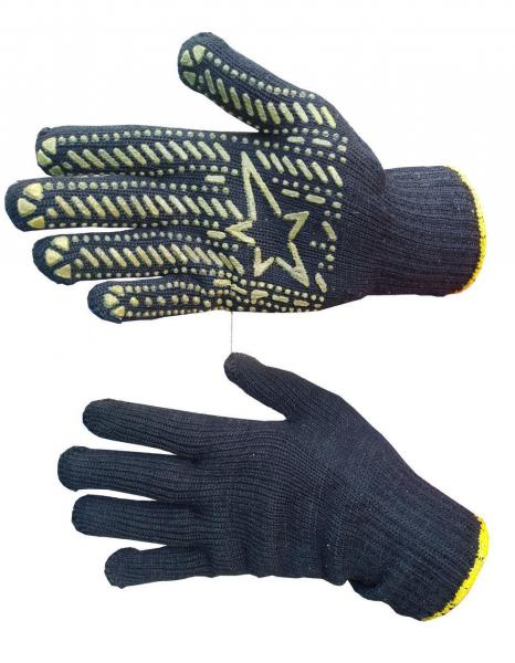 Перчатки х/б Звезда