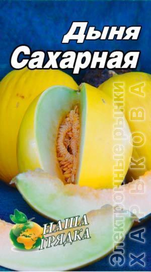 Дыня Сахарная пакет 40 семян - Семена, саженцы и рассада плодово-ягодных культур на рынке Барабашова