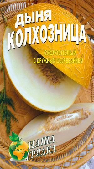 Дыня Колхозница пакет 40 семян