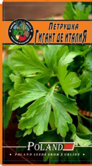 Петрушка Гигант де Италия пакет 20 грамм семян