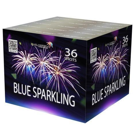 """Фейерверк Салютная установка 36 залпов """"BLUE SPARKLING"""""""
