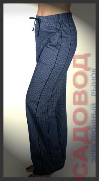 Брюки домашние : арт.1233 Спортивные брюки женские на рынке Садовод