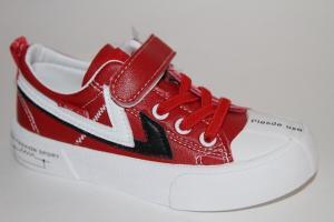 Фото Спортивная обувь, КЕДЫ, Кеды до 32 Кеды L2525 красный