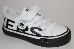Фото Спортивная обувь, КЕДЫ, Кеды до 32 Кеды L2527 белый