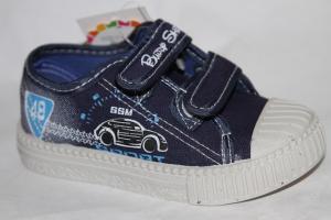 Фото Спортивная обувь, КЕДЫ, Кеды до 32 Кеды Н1720В синий