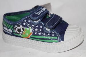 Фото Спортивная обувь, КЕДЫ, Кеды до 32 Кеды Н1716В синий