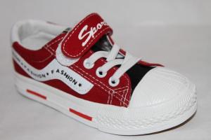 Фото Спортивная обувь, КЕДЫ, Кеды до 32 Кеды А27 красный