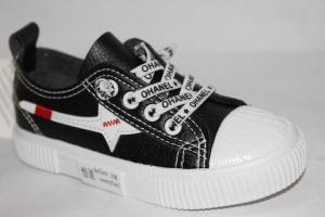 Фото Спортивная обувь, КЕДЫ, Кеды до 32 Кеды А-26 черный