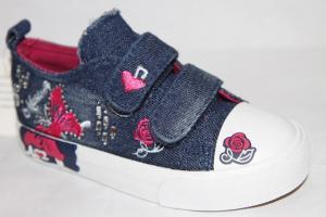 Фото Спортивная обувь, КЕДЫ, Кеды до 32 Кеды D-09 синий