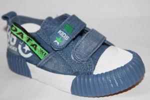 Фото Спортивная обувь, КЕДЫ, Кеды до 32 Кеды А-19 голубой