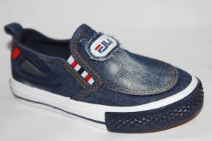 Фото Спортивная обувь, КЕДЫ, Кеды до 32 Кеды А-17 синий