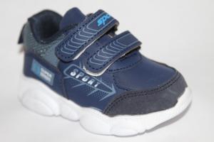 Фото Спортивная обувь, КРОССОВКИ, Маленькие размеры Кроссовки А12 синий