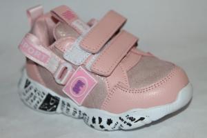 Фото Спортивная обувь, КРОССОВКИ, Маленькие размеры Туфли 839 розовый