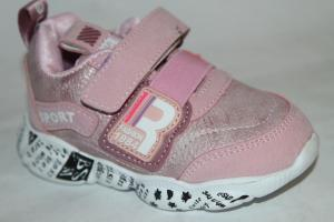 Фото Спортивная обувь, КРОССОВКИ, Маленькие размеры Кроссовки 923 розовый