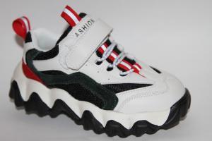 Фото Спортивная обувь, КРОССОВКИ, Средние размеры Кроссовки 8979В зеленый