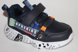 Фото Спортивная обувь, КРОССОВКИ, Средние размеры Кроссовки 0142-2 синий