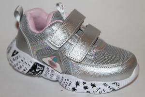 Фото Спортивная обувь, КРОССОВКИ, Средние размеры Кроссовки 0137-2 серебро