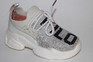 Фото Спортивная обувь, КРОССОВКИ, Средние размеры Кроссовки АХ152-9362А белый