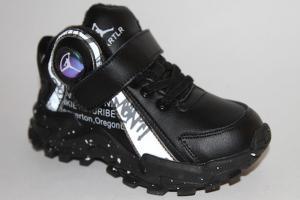 Фото Спортивная обувь, КРОССОВКИ, Средние размеры Кроссовки М03В черный