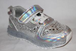 Фото Спортивная обувь, КРОССОВКИ, Средние размеры Кроссовки А7715-2 серебро