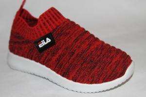 Фото Спортивная обувь, КРОССОВКИ, Средние размеры Кроссовки В641 красный