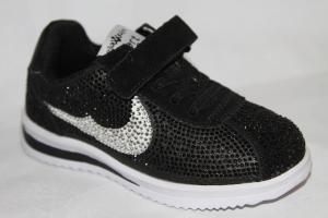 Фото Спортивная обувь, КРОССОВКИ, Средние размеры Кроссовки 8385-1 черный