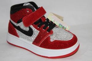 Фото Спортивная обувь, КРОССОВКИ, Средние размеры Кроссовки 8381-1 красный