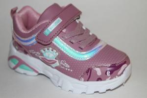 Фото Спортивная обувь, КРОССОВКИ, Средние размеры Кроссовки В-315 фиолетовый