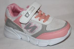 Фото Спортивная обувь, КРОССОВКИ, Средние размеры Кроссовки В06 бежевый